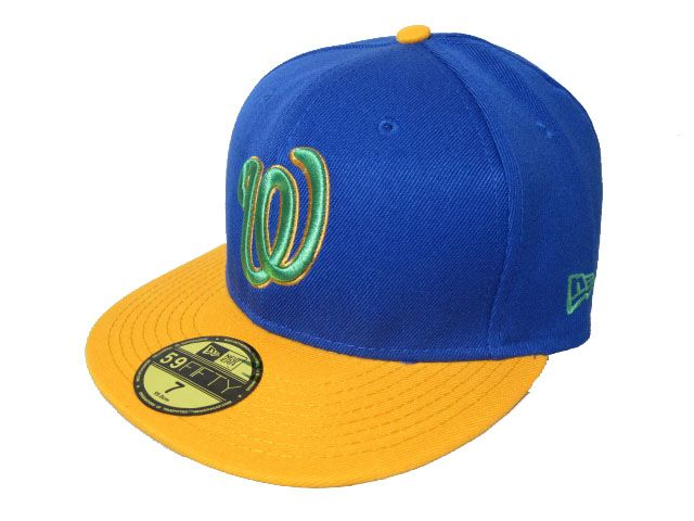 Washington Nationals MLB Fitted Hat LX09