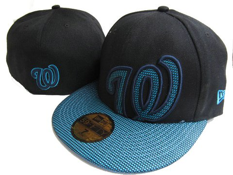 Washington Nationals MLB Fitted Hat LX10
