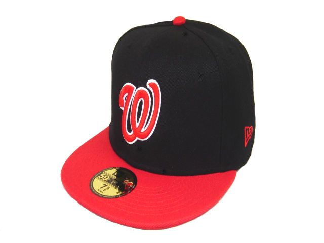 Washington Nationals MLB Fitted Hat LX11