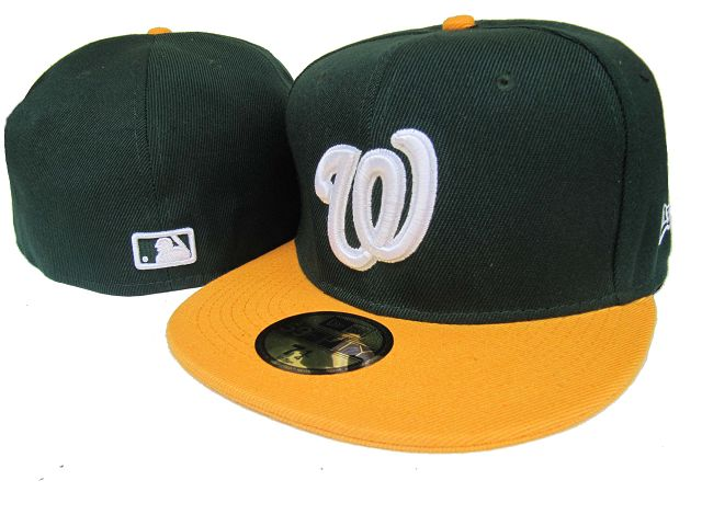 Washington Nationals MLB Fitted Hat LX12