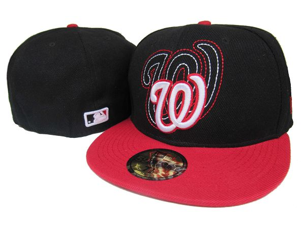 Washington Nationals MLB Fitted Hat LX13