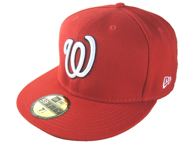 Washington Nationals MLB Fitted Hat LX16