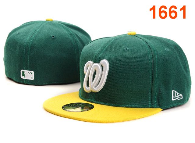 Washington Nationals MLB Fitted Hat PT03