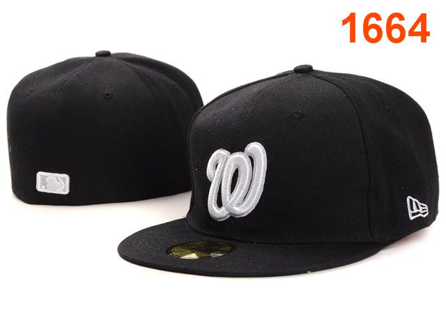 Washington Nationals MLB Fitted Hat PT05