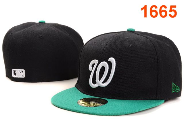Washington Nationals MLB Fitted Hat PT06
