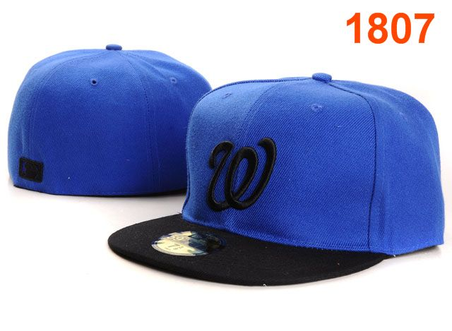 Washington Nationals MLB Fitted Hat PT08