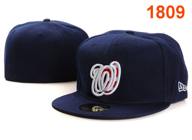Washington Nationals MLB Fitted Hat PT10