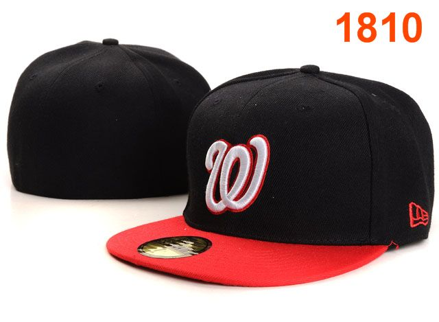 Washington Nationals MLB Fitted Hat PT11