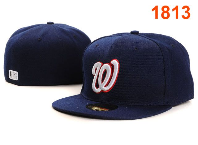 Washington Nationals MLB Fitted Hat PT13