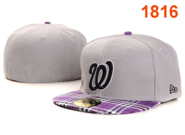 Washington Nationals MLB Fitted Hat PT15