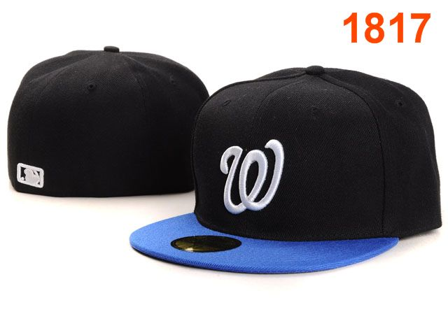 Washington Nationals MLB Fitted Hat PT16