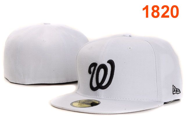 Washington Nationals MLB Fitted Hat PT17