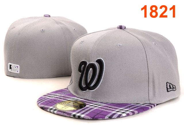 Washington Nationals MLB Fitted Hat PT18