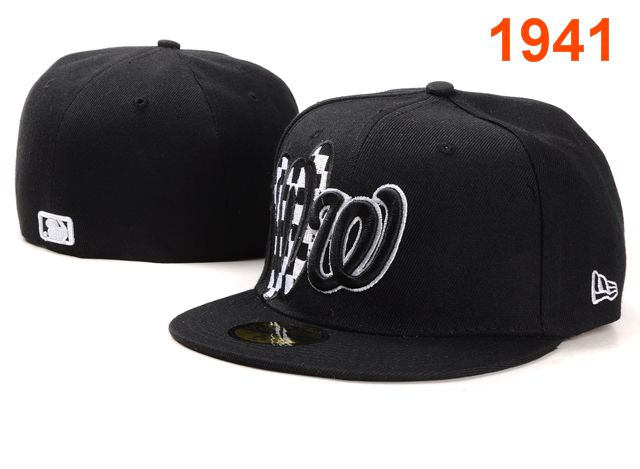 Washington Nationals MLB Fitted Hat PT19