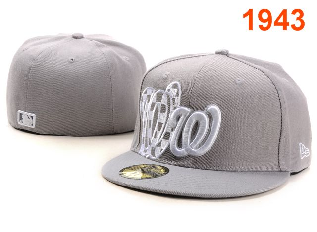 Washington Nationals MLB Fitted Hat PT21