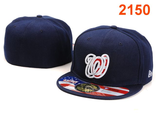 Washington Nationals MLB Fitted Hat PT22