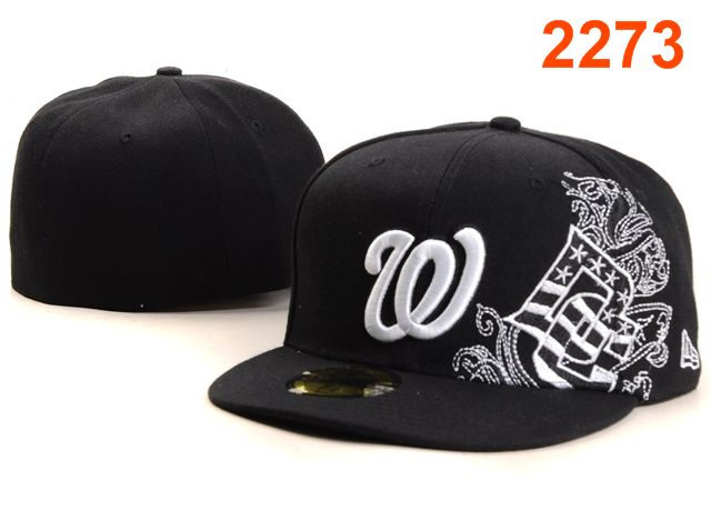 Washington Nationals MLB Fitted Hat PT25