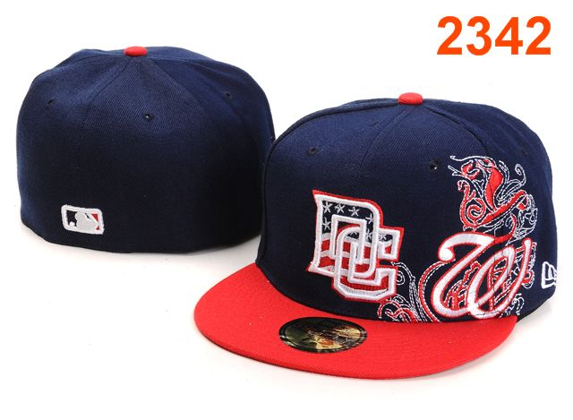 Washington Nationals MLB Fitted Hat PT26