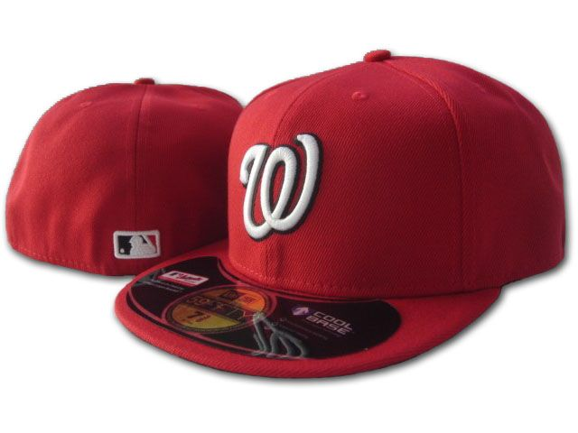 Washington Nationals MLB Fitted Hat SF1