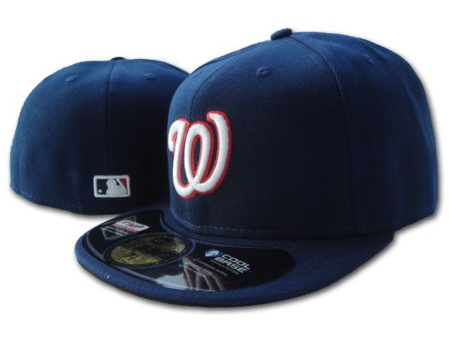 Washington Nationals MLB Fitted Hat SF2