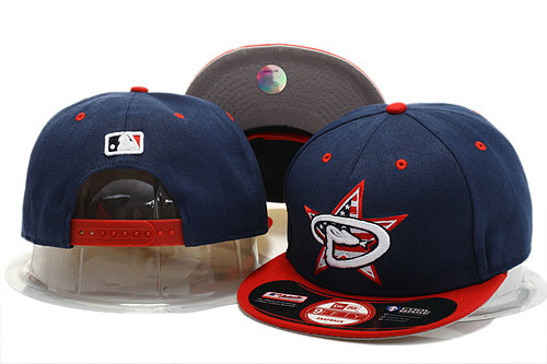 Arizona Diamondbacks Navy Snapback Hat YS 0721
