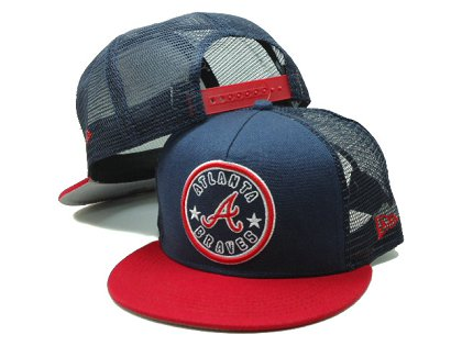Atlanta Braves Snapback Hat SF 140802 06
