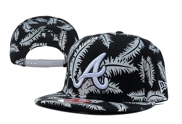 Atlanta Braves Snapback Hat XDF 102