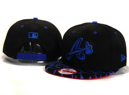 Atlanta Braves New Snapback Hat YS 4A08