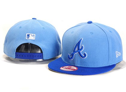 Atlanta Braves New Type Snapback Hat YS7612