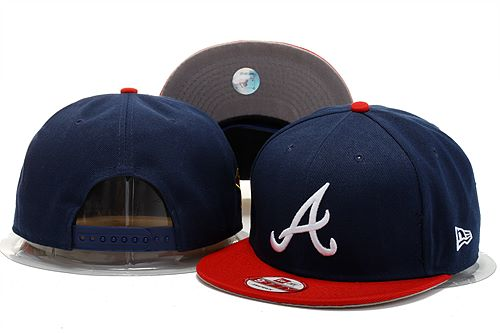 Atlanta Braves Snapback Hat 0903