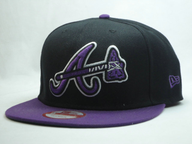 Atlanta Braves Snapback Hat SF