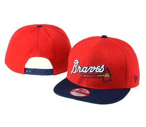 Atlanta Braves MLB Snapback Hat 60D2