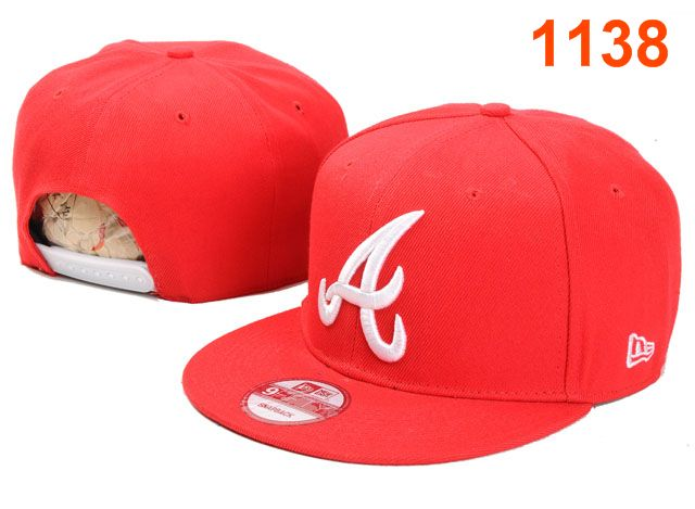 Atlanta Braves MLB Snapback Hat PT009