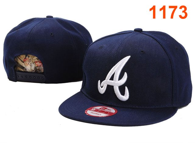Atlanta Braves MLB Snapback Hat PT034