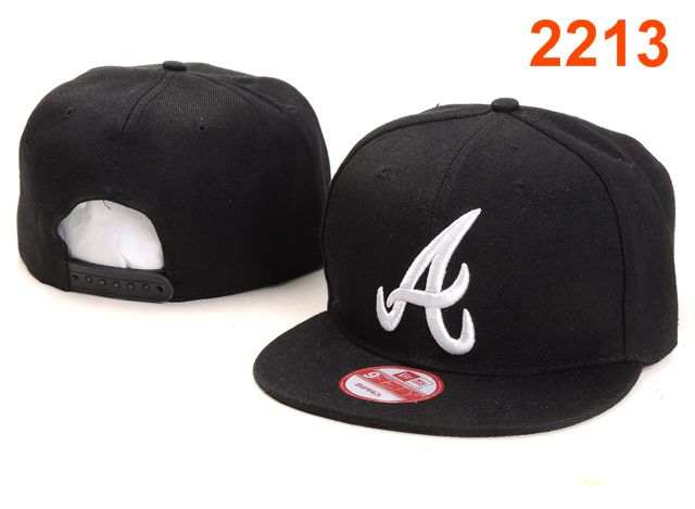 Atlanta Braves MLB Snapback Hat PT054
