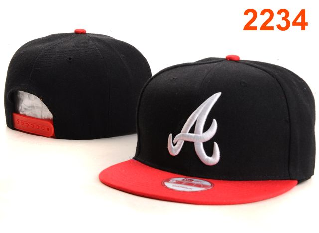 Atlanta Braves MLB Snapback Hat PT073