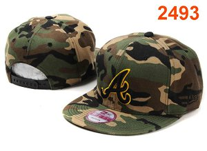 Atlanta Braves MLB Snapback Hat PT104