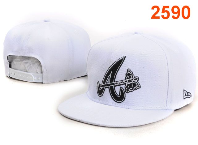 Atlanta Braves MLB Snapback Hat PT122