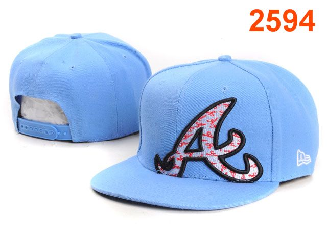 Atlanta Braves MLB Snapback Hat PT126