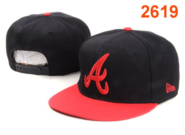 Atlanta Braves MLB Snapback Hat PT149