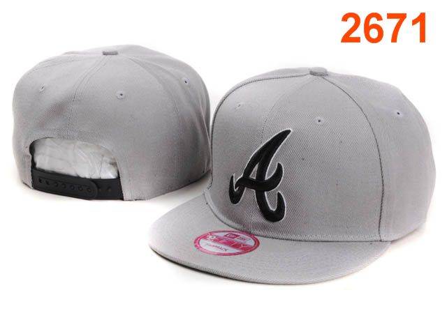 Atlanta Braves MLB Snapback Hat PT161