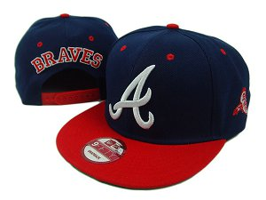 Atlanta Braves MLB Snapback Hat SD04