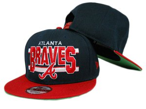 Atlanta Braves MLB Snapback Hat ZY1