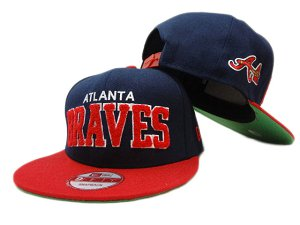 Atlanta Braves MLB Snapback Hat ZY2