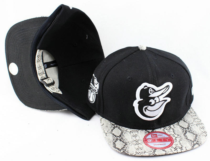 Baltimore Orioles Black Snapback Hat JT 0613