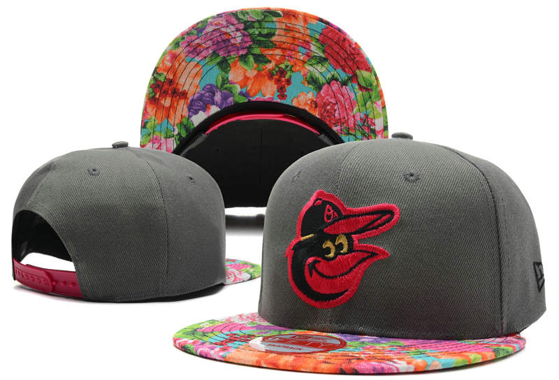 Baltimore Orioles Grey Snapback Hat DF 0613