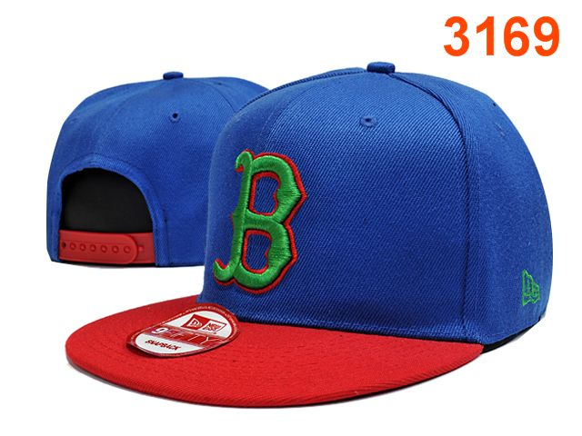 Boston Red Sox Blue Snapback Hat PT 0701