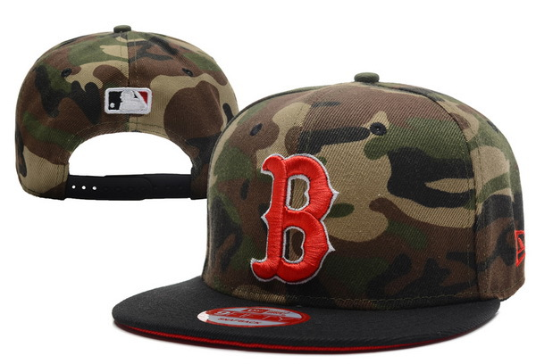 Boston Red Sox Camo Snapback Hat XDF 0701