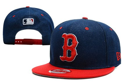 Boston Red Sox Snapback Hat XDF 140802-09