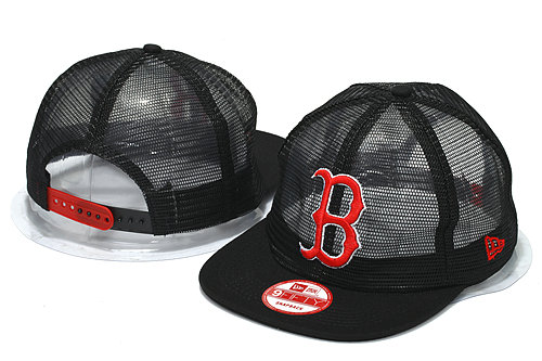 Boston Red Sox Mesh Snapback Hat YS 0512